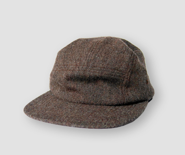 Wool Jersey Jet Cap (Brown)