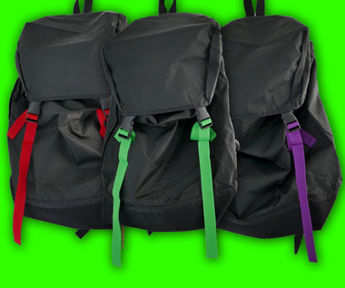Nylon Backpack (3 Colors)