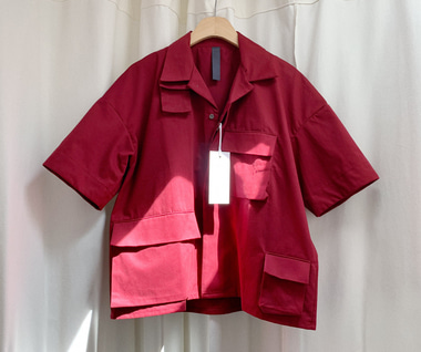 Tactical Shirt (Maroon)