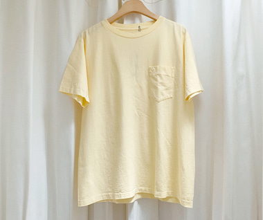 Balta Pocket T-Shirt (Pale Yellow)