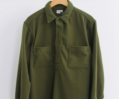 LS Popover Shirt Two (Olio Polar Fleece)
