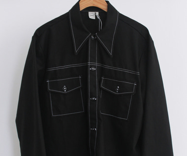 Rodeo Shirt (Black Canvas)
