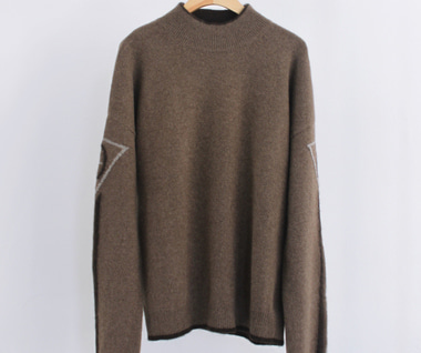 Velocity Logo Sweater (Light Brown)