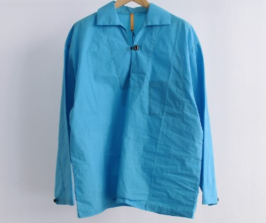 ONE BUTTON PULLOVER SHIRT (Summer)
