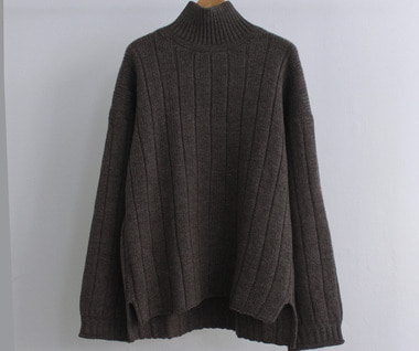 Forestry Rollneck Sweater (Bush Grey)