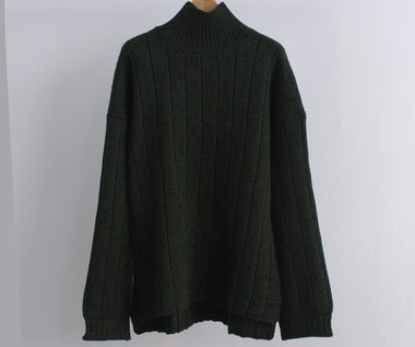 Forestry Rollneck Sweater (Evergreen)