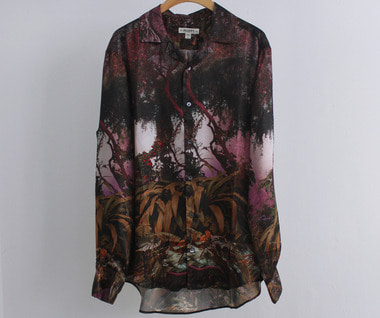 L/S Hollywood Shirt (Illuminated Dendrology Print)