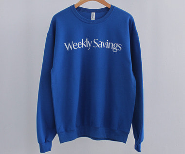 Weekly Savings Campaign Sweatshirt (Royal)