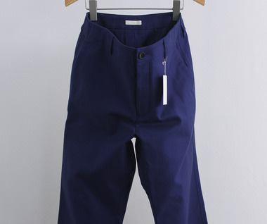 French Worker Serge Atelier Pants (Blue)