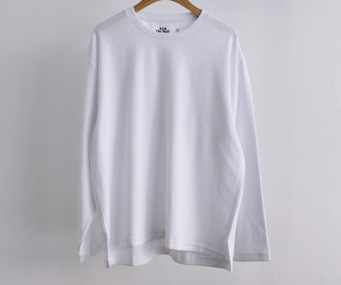 Terry Long Sleeve (White)