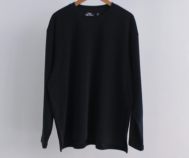 Terry Long Sleeve (Navy)