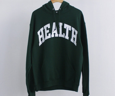 HEALTH Logo Hoodie (Forest Green)